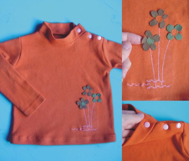Camiseta flores