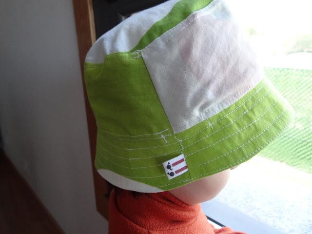 sombrero reversible tutorial y patrón
