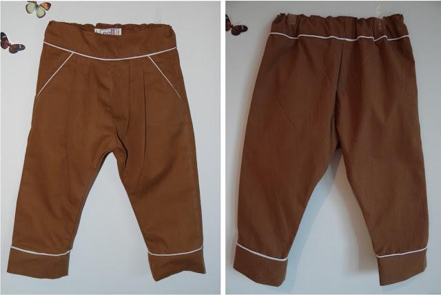 Pantalon Marron infantil