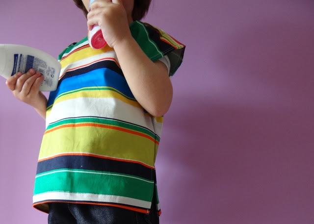 Blusa cuadrada + free pattern