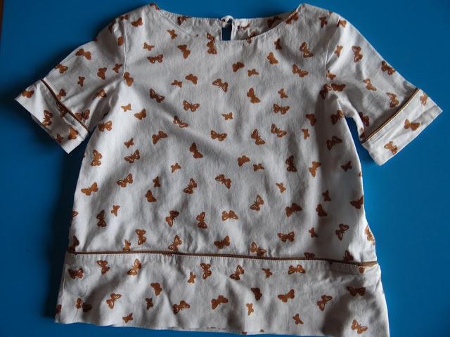 Blusa mariposas infantil