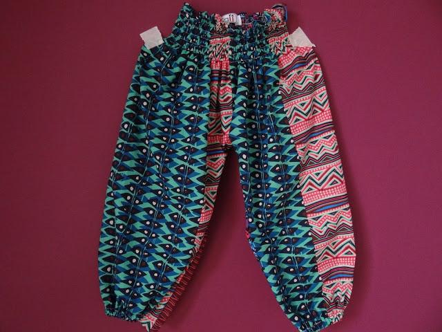 Pantalon Fruncido