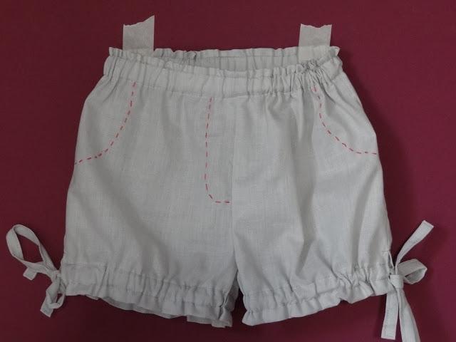 Como coser shorts infantil