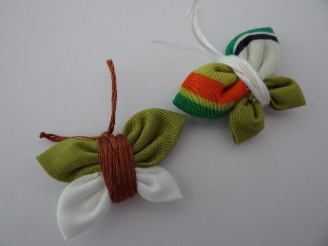 Mariposa de tela
