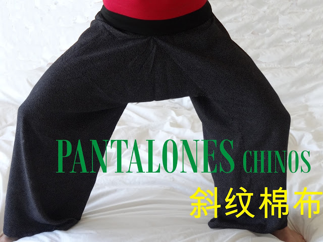 Tutorial Pantalones Chinos
