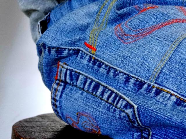 Reciclando pantalones