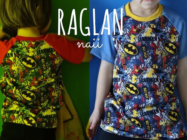 Camisetas Raglán Naii
