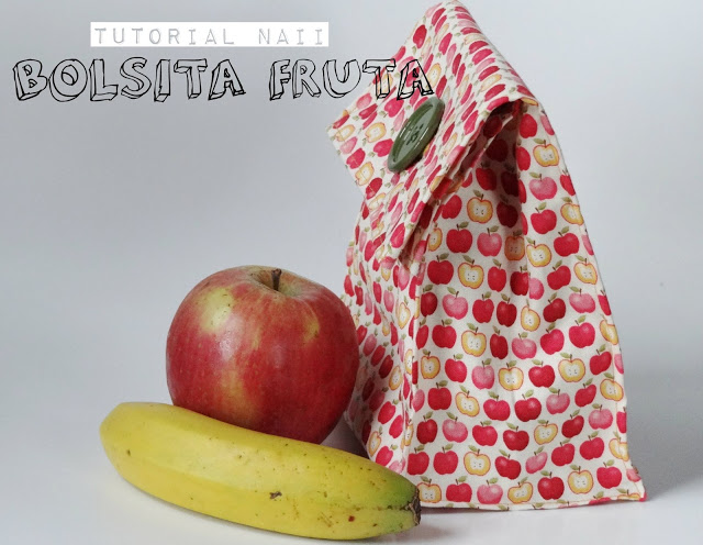 Tutorial Bolsita Fruta