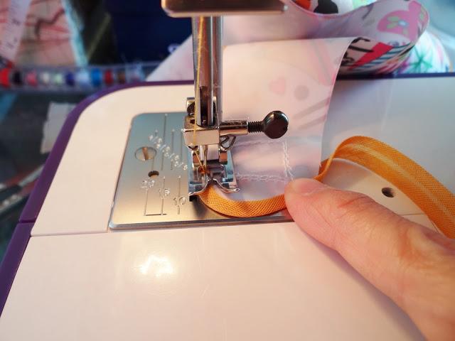 coser bies o sesgo fácil