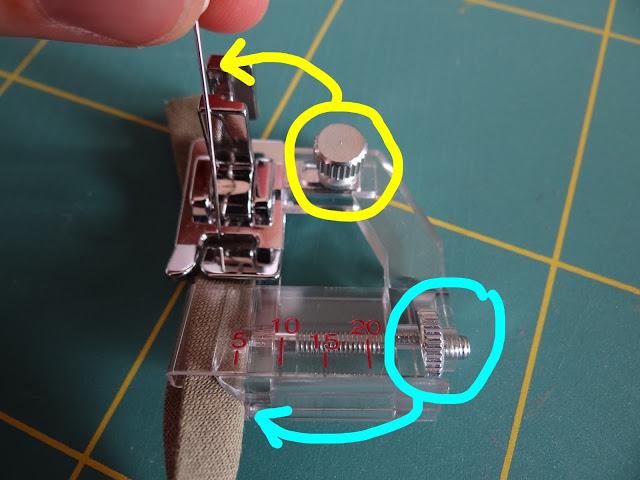 prensatelas para coser sesgo o bies