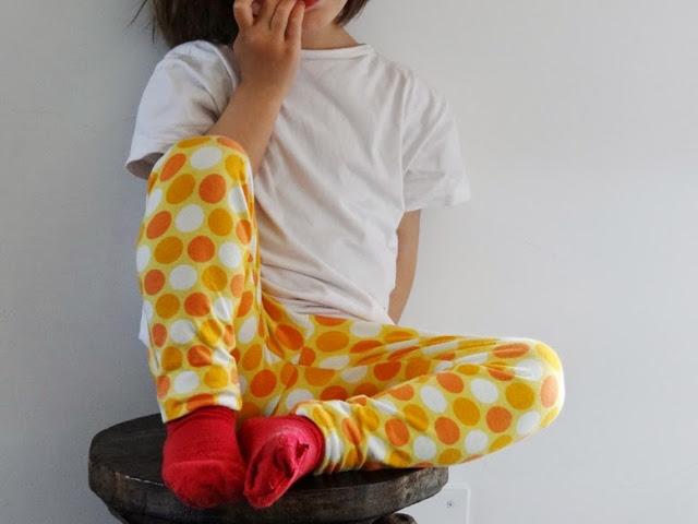 patrón leggings infantil