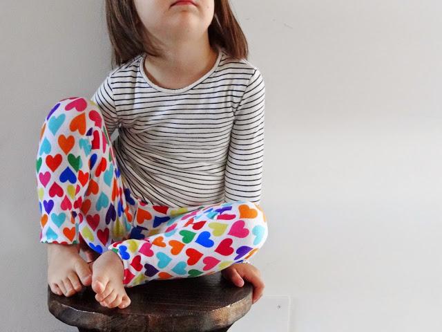 cosemos patrón leggings infantil