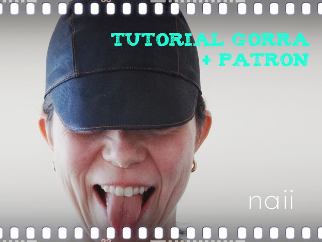 Tutorial Gorra Naii+Patrón
