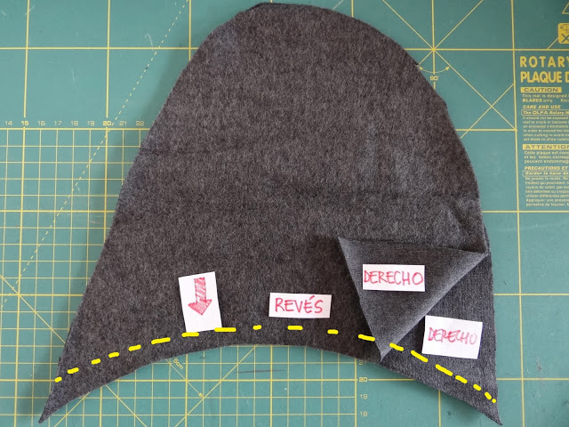 tutorial coser zapatilla adulto