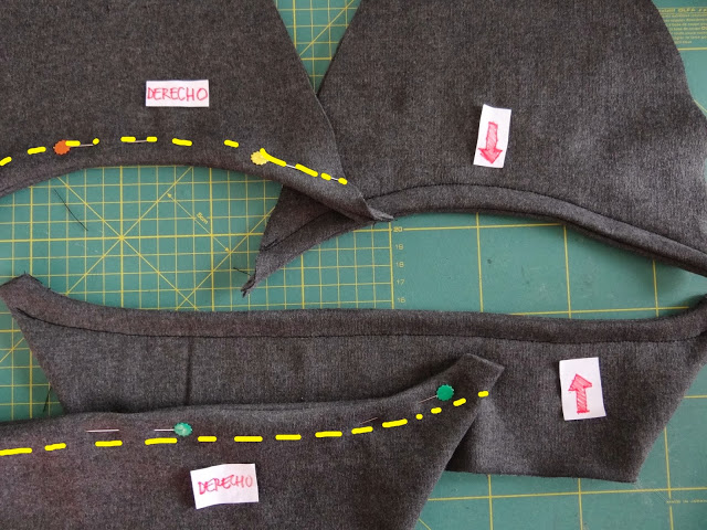 tutorial coser zapatilla de tela