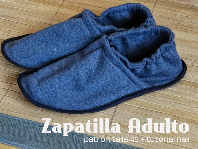 Tutorial Coser Zapatilla Adulto