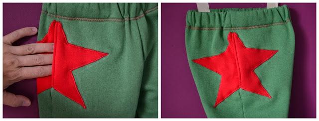 Pantalón estrella
