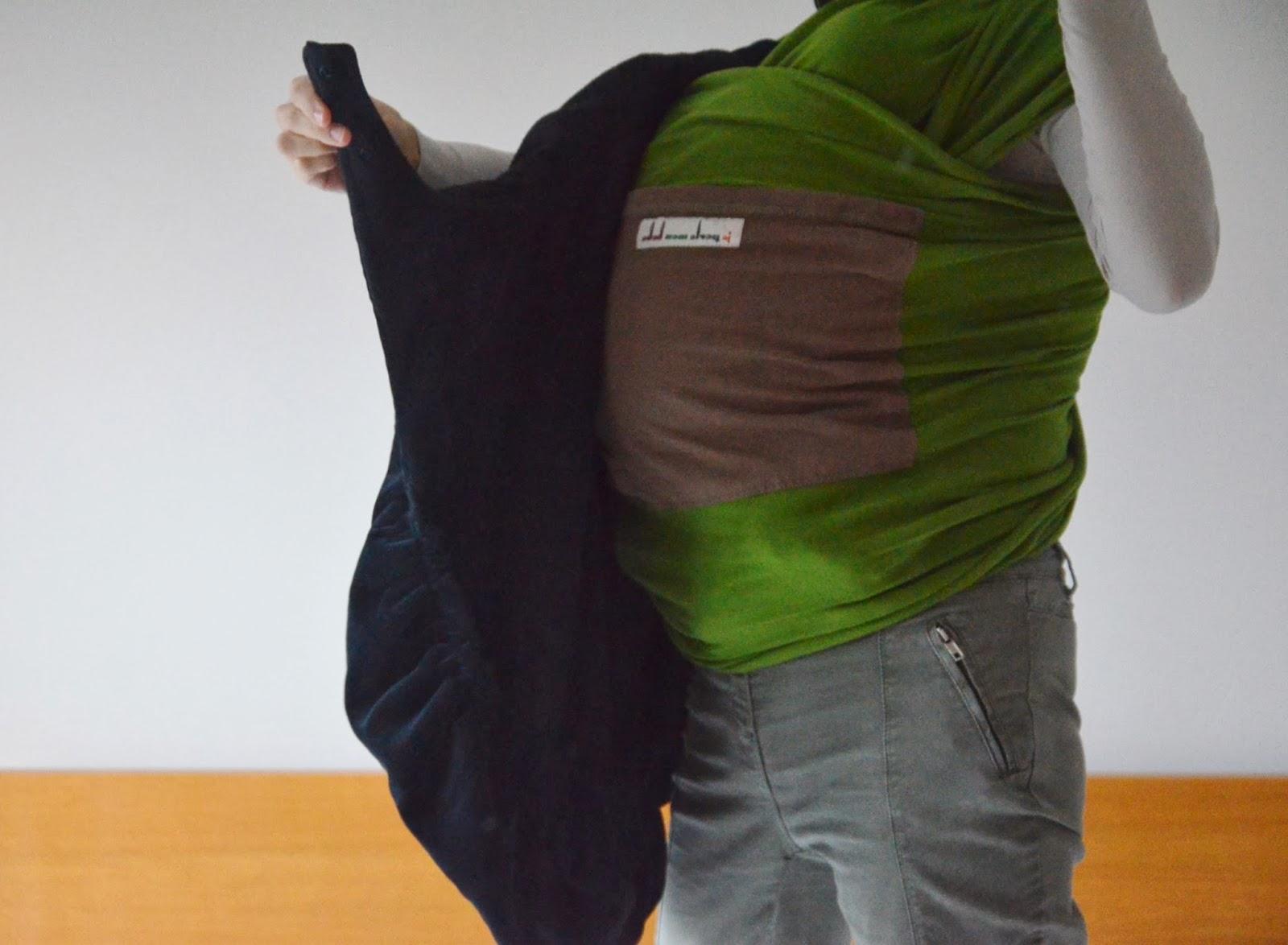 Cobertor de porteo