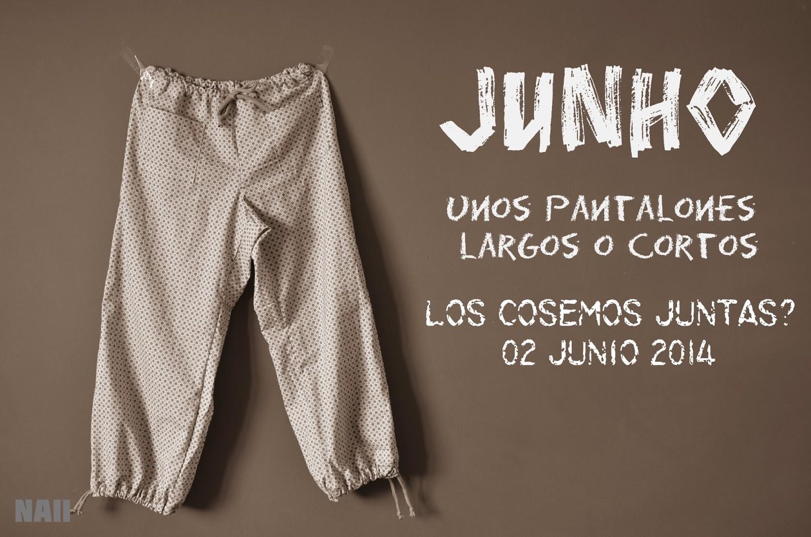Cosemos juntas Junho – patrón pantalones adulto
