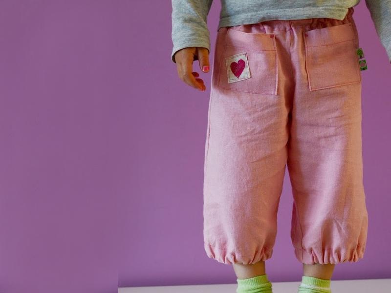Pantalones Junho kids + Free pattern
