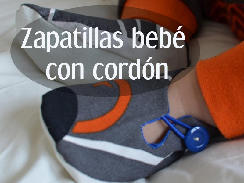 Patrón Zapato tela bebé con cordón