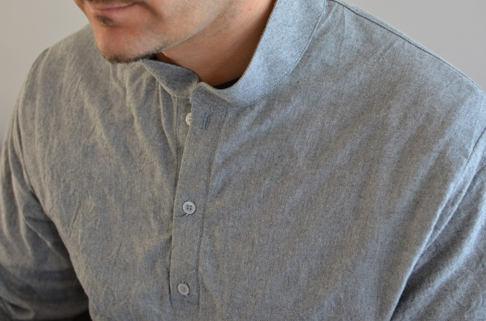 Camisa gris