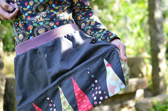 Banner day skirt