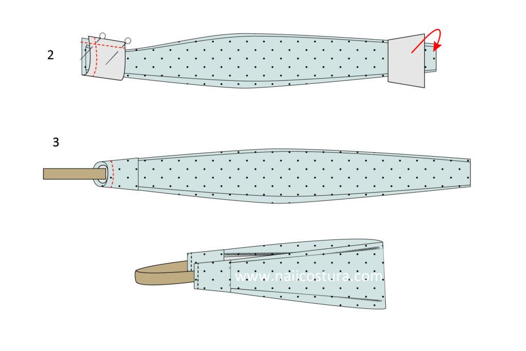 coser bandana para pelo