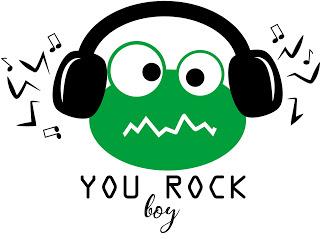 Rana rock – SILUETA GRATIS PARA APLIQUE