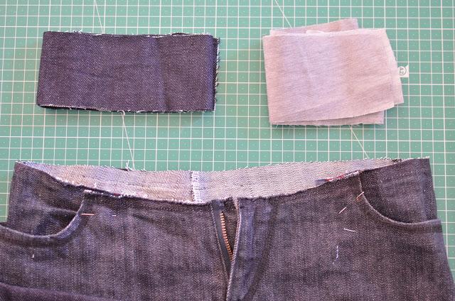 coser cinturilla pantalón o falda