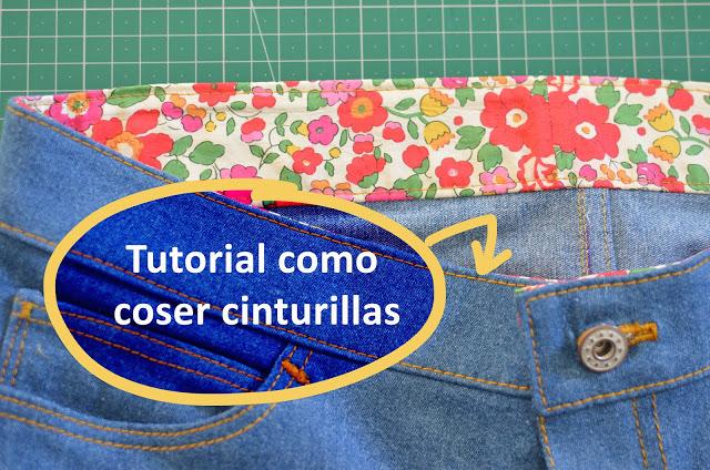 Tutorial coser cinturilla – método no convencional