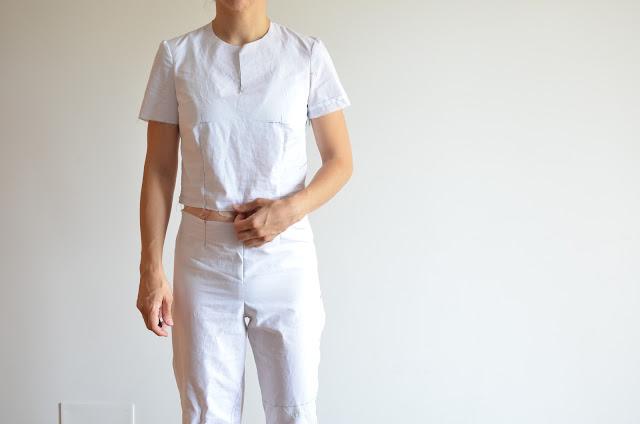 Patronaje – base de cuerpo y pantalón