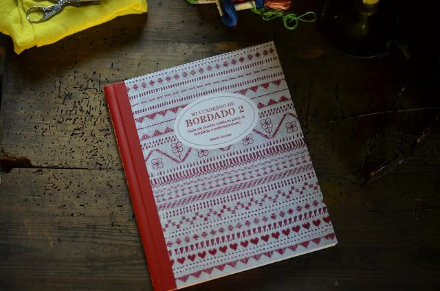 Mi cuaderno de Bordado 2 – guía de puntos clásicos para el bordado contemporaneo