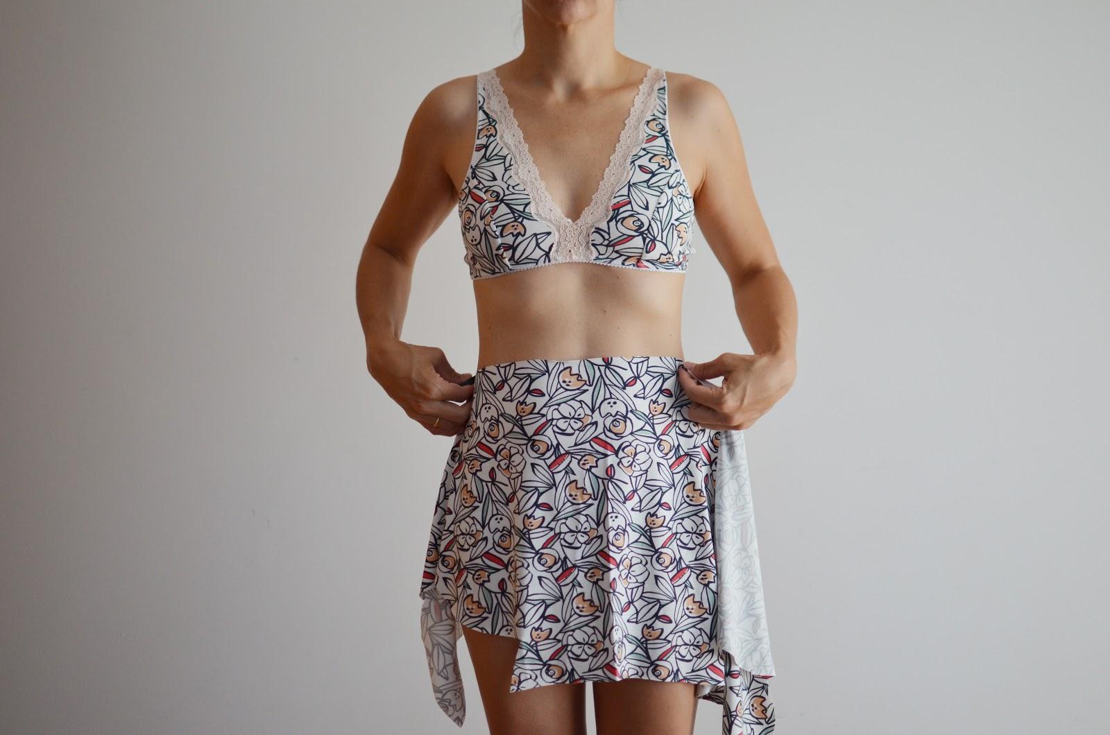 Coser lencería con Studio Costura