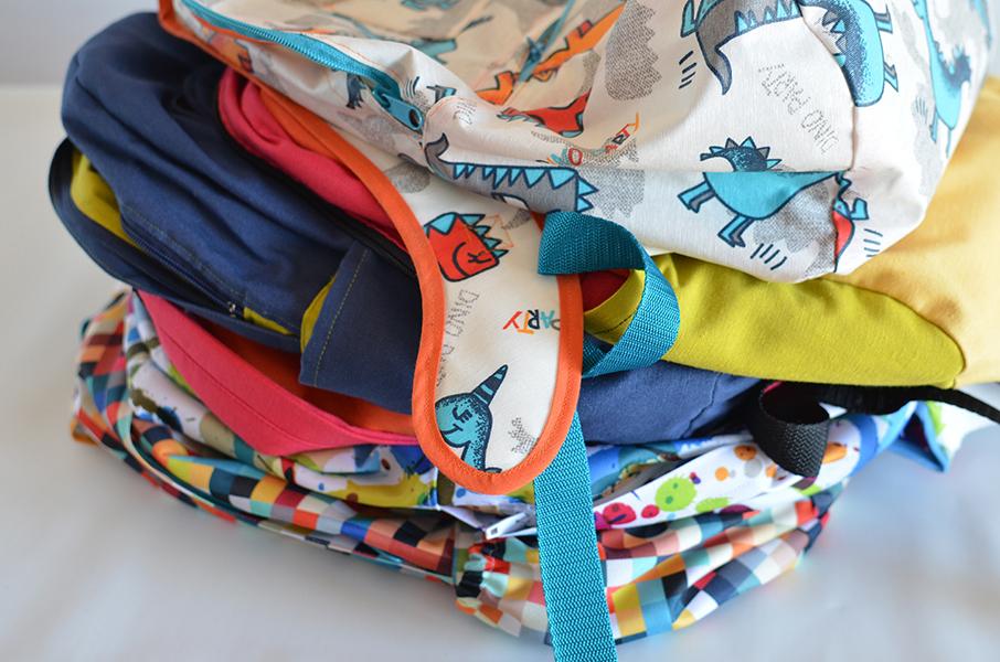 ¿Qué material uso para coser mi mochila?