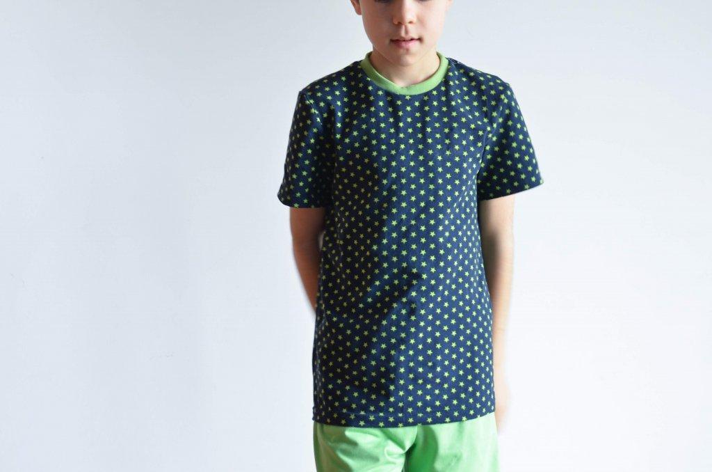 camiseta simple manga corta
