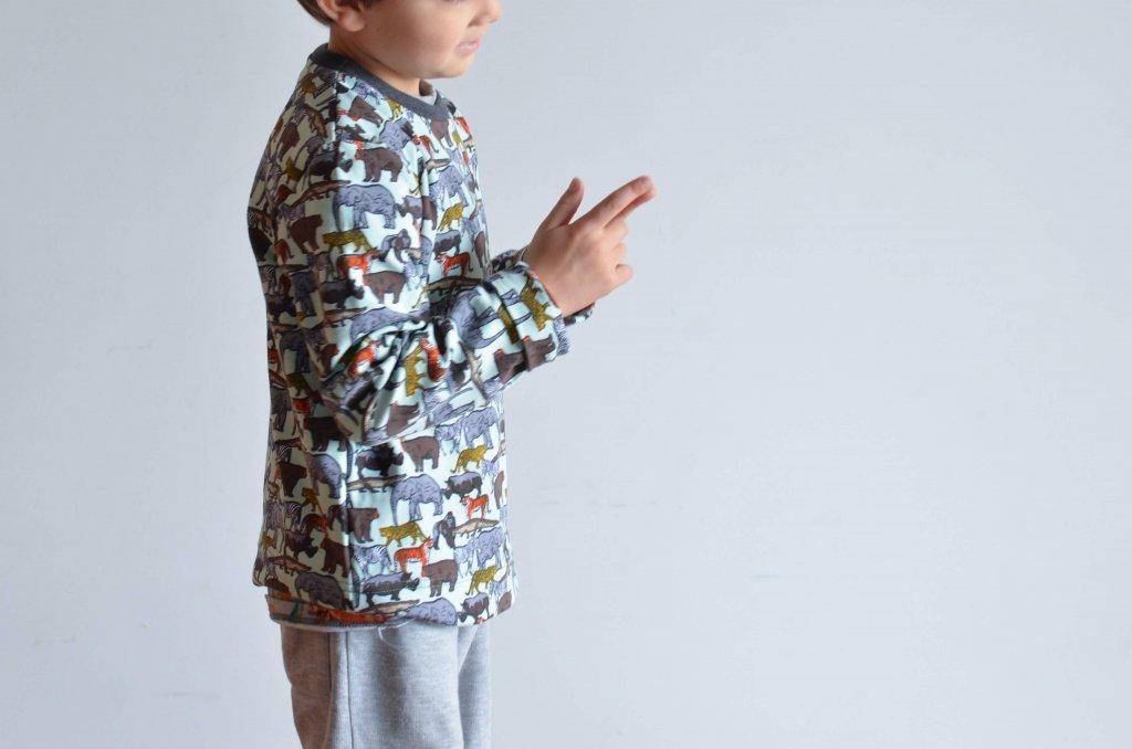 patrón gratis camiseta infantil