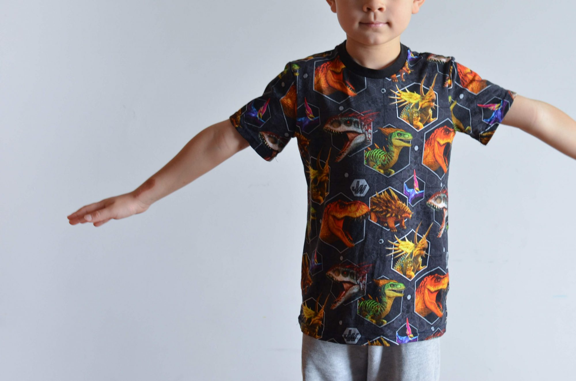 Camiseta Simple – Nuevo Patrón