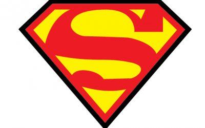 Superman – silueta gratis para aplique