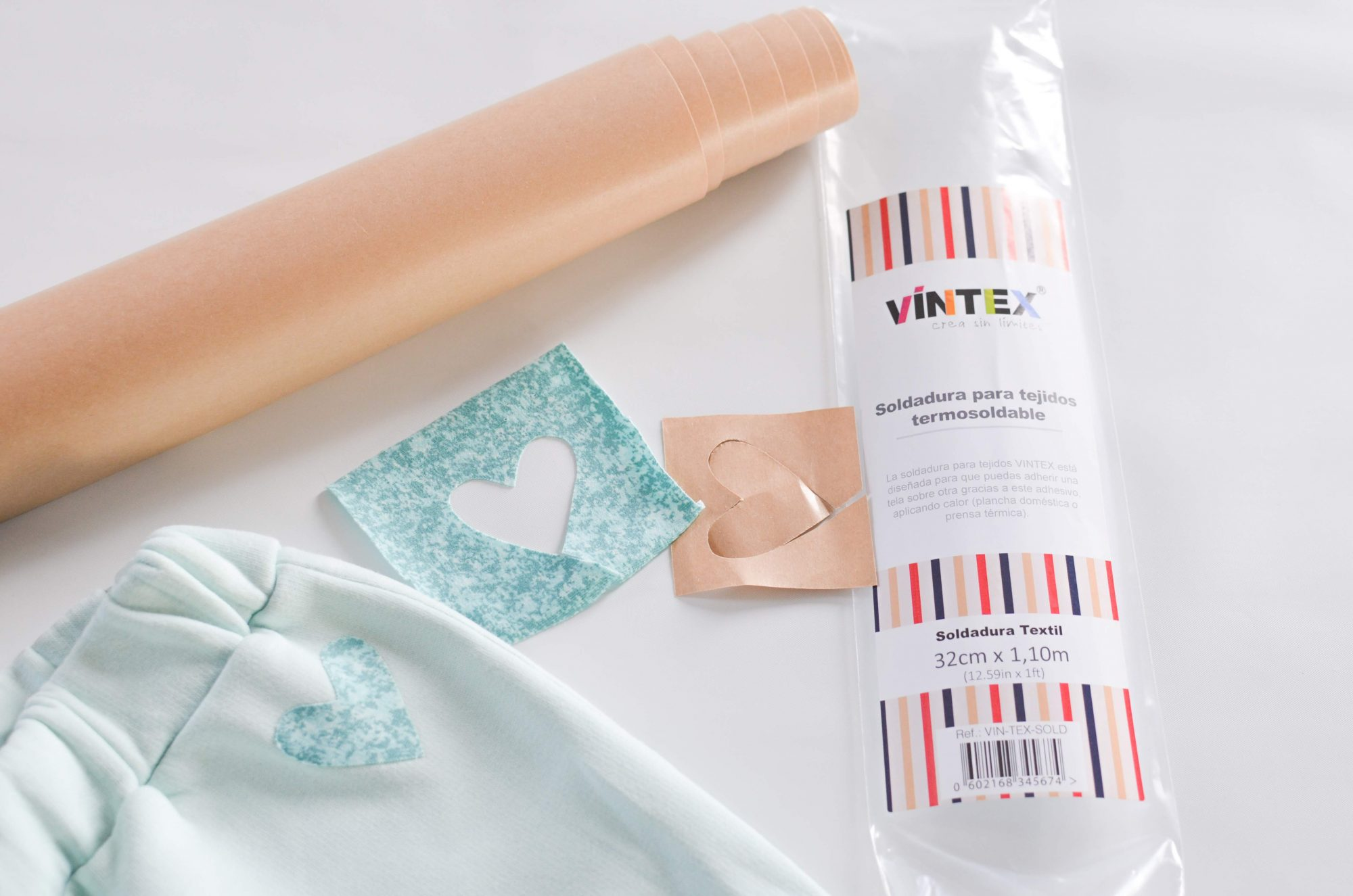 Decorar la ropa con apliques de tela – Parte III