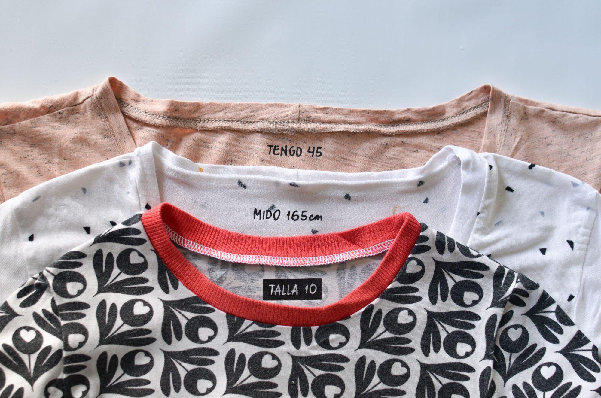 Etiquetas para ropa + Siluetas gratis – Parte IV