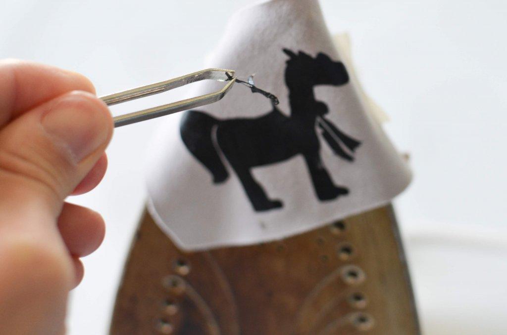 decorar la ropa con vinilo