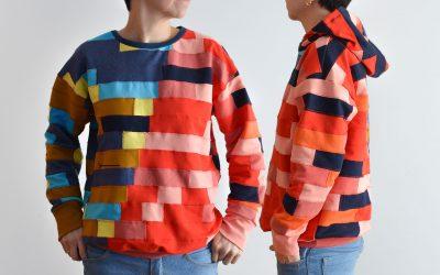 Sudadera Adhara – nuevo patrón de costura