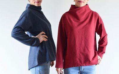 Sudadera Hadar – nuevo patrón de costura