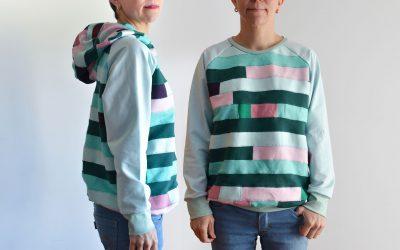 Sudadera Lyra – nuevo patrón de costura