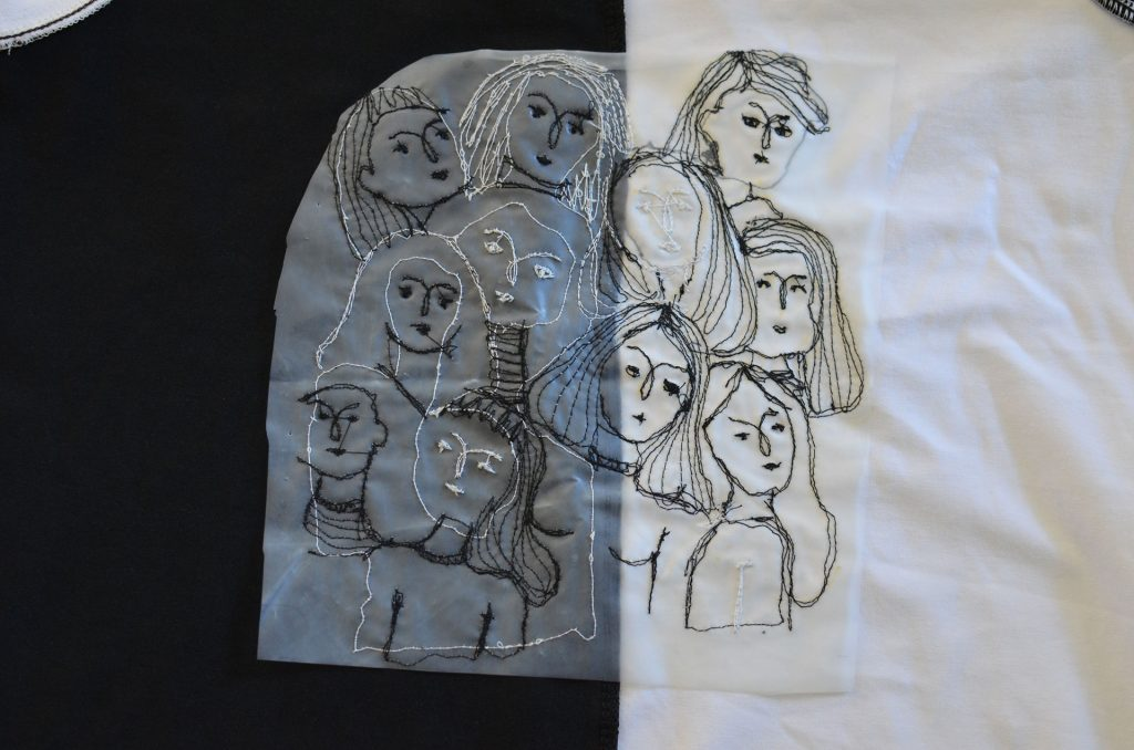 bordado libre máquina de coser
