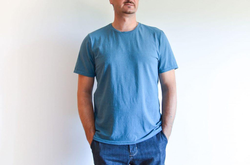 patrón camiseta hombre