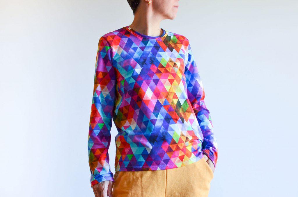 patrón camiseta mujer