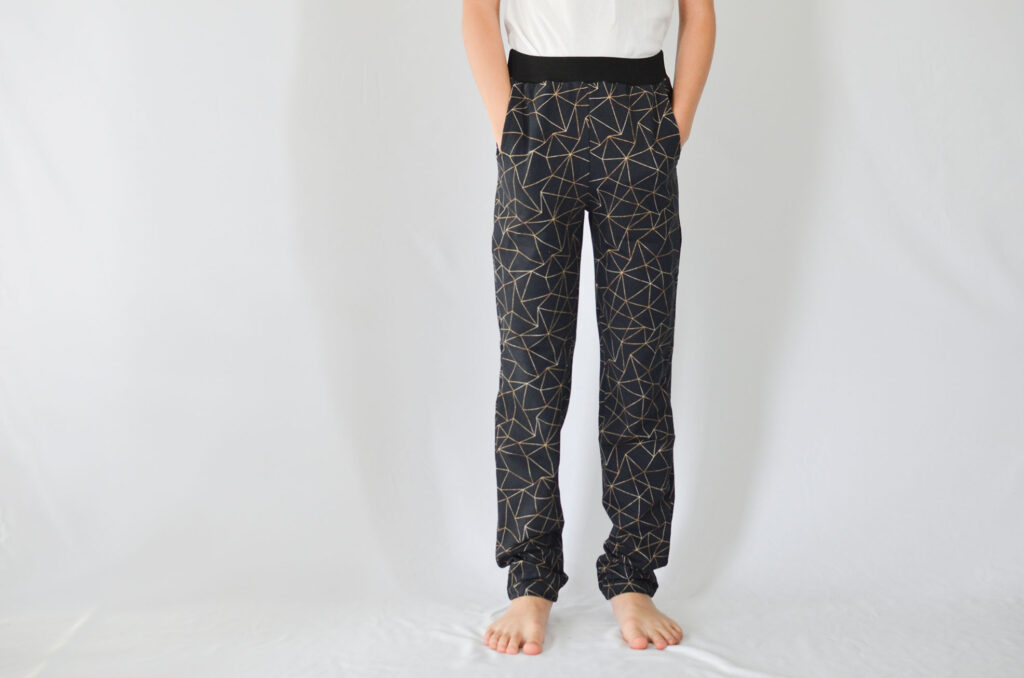 pantalones xoga con dobladillo