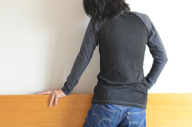 camiseta raglán patrón gratis